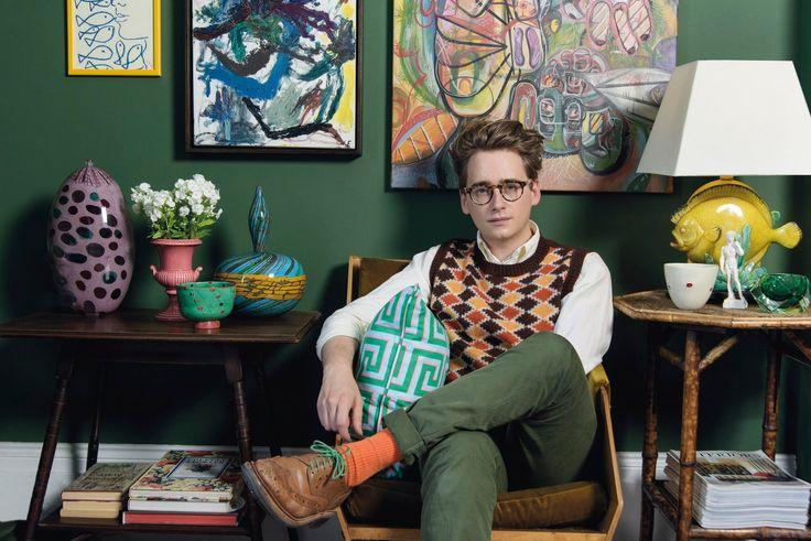 Vogue calls him a 'wunderkind'. The 1920s-inspired illustrator and designer, who…