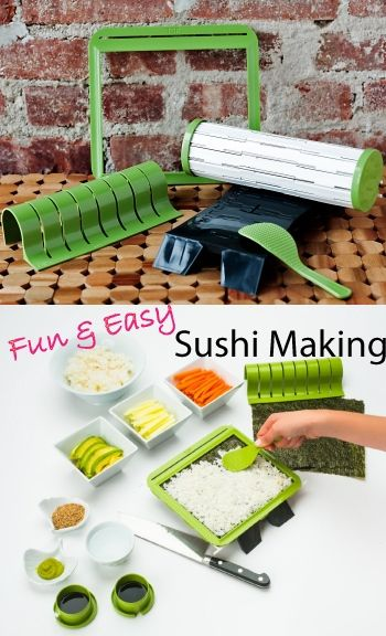10 best images about sushi on pinterest sushiquik sushi making kit unique easter gift ideas for boyfriend for her for negle Images