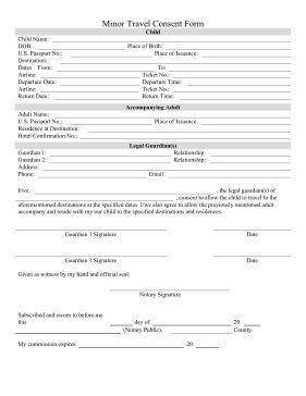 travel abroad letter forward this printable minor consent form child philippines legal templates agreements