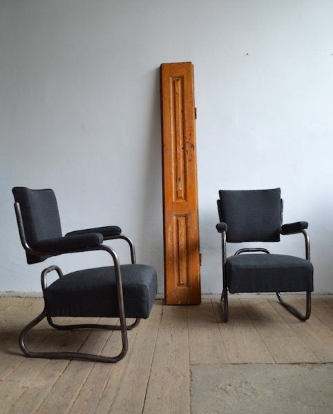 Bauhaus armchairs (2 pc) | artKRAFT - Furniture&Design