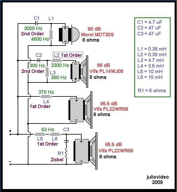 Poleznye Shemy I Chertezhi Dlya Akustiki Electronic Akustiki Dlya I Poleznye Shemy Chertezhi Speaker Box Design Electronic Schematics Diy Audio Projects
