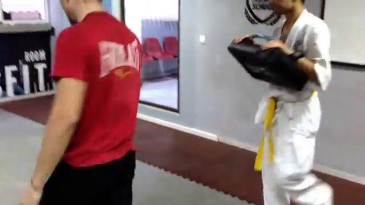Kaiten Geri - Kyokushin Karate Technics