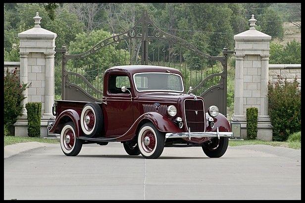 1935 Ford  Pickup Flathead V-8, Frame-off Restored Photo 1