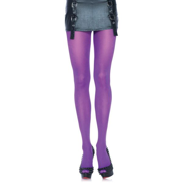 Women's Leg Avenue Wear the Rainbow Nylon Tights ($3.99) ❤ liked on Polyvore featuring intimates, hosiery, tights, purple, socks & hosiery, rainbow tights, leg avenue stockings, leg avenue, nylon hosiery and purple stockings
