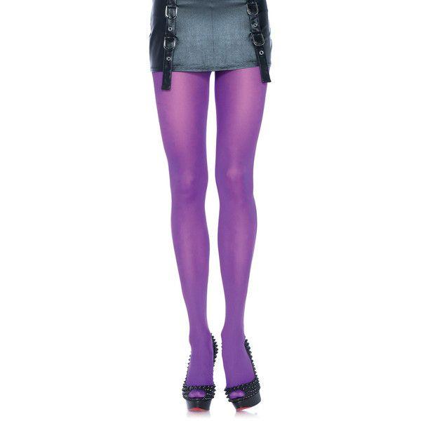 Women's Leg Avenue Wear the Rainbow Nylon Tights ($4.99) ❤ liked on Polyvore featuring intimates, hosiery, tights, purple, socks & hosiery, leg avenue hosiery, leg avenue pantyhose, leg avenue stockings, nylon hosiery and purple stockings
