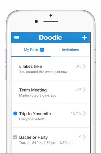Doodle. The scheduling app makes it easy to poll everyone and find a time that works across the board. You can finally bid farewell to those endless group email chains.Doodle</strong...