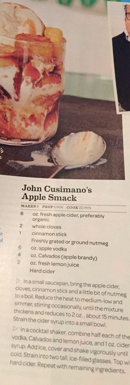 John Cusimano's Apple Smack