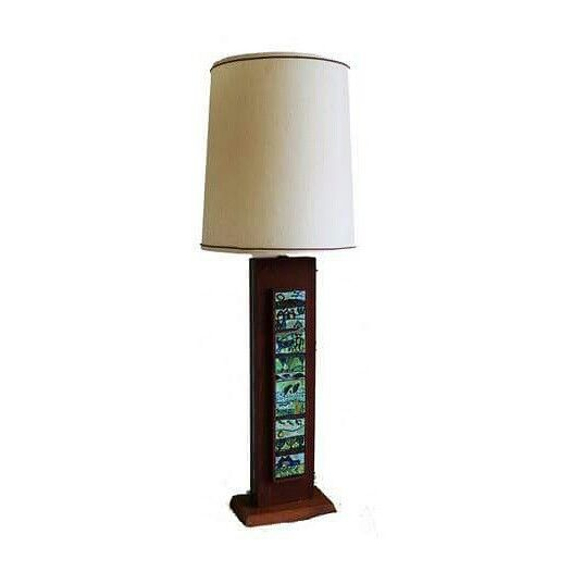 rectangular table lamp description the tall narrow wooden table lamp. Black Bedroom Furniture Sets. Home Design Ideas