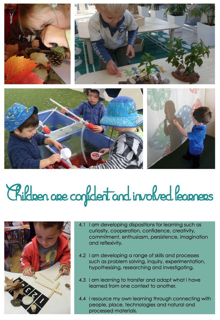 EYLF Posters @ New Horizons Preschool