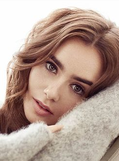 Lily Collins for Marie Claire Taiwan Magazine (Beauty Women Actresses)