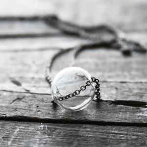 Glass Globe Necklace on Fab.   http://fab.com/rq15df