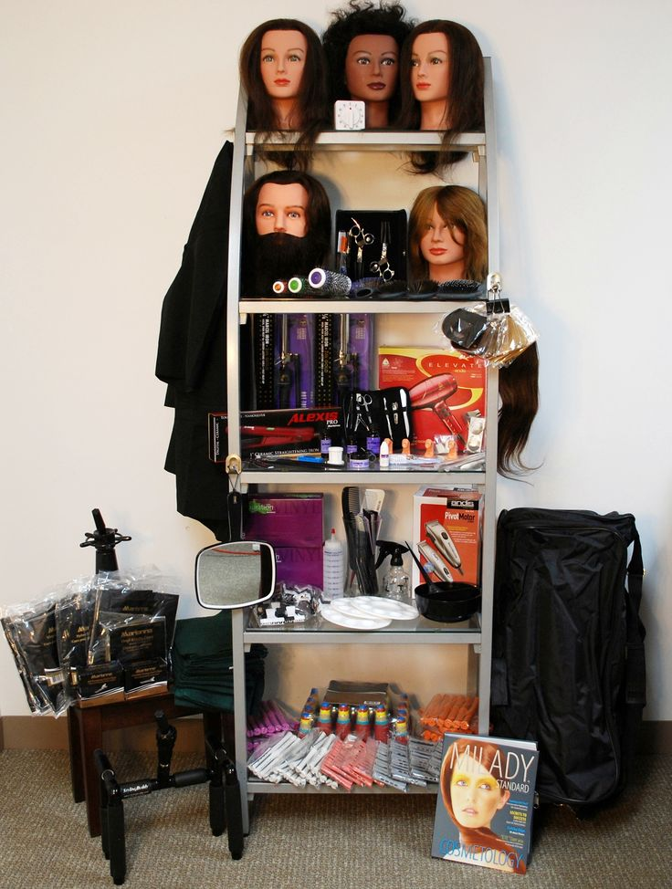 What a Cosmetology Kit should look likenotice how many