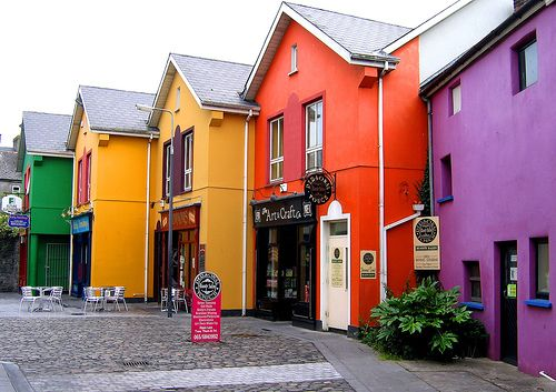Ennis, County Clare, Ireland.  This is a stunning town that we just didn't want to leave.