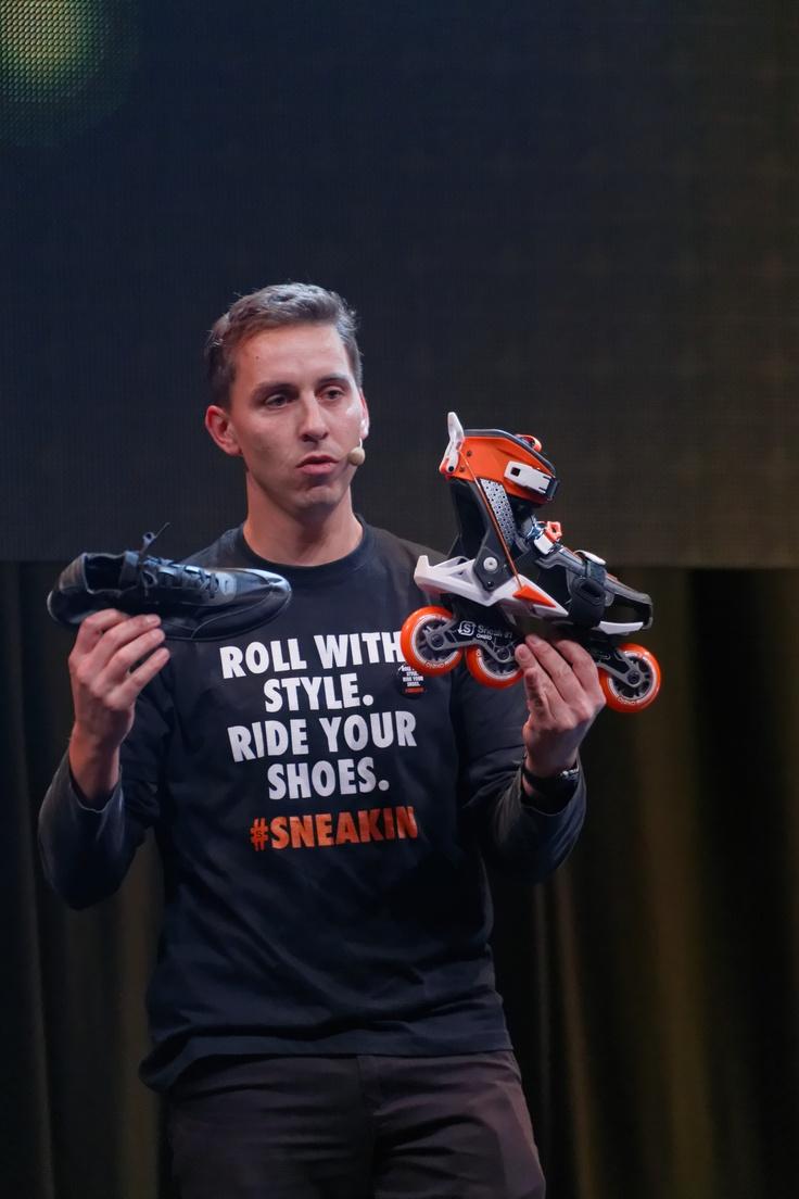 Rollers Skeakin- finalista Oxylane Innovation Awards 2012- Rueda con tus zapatos