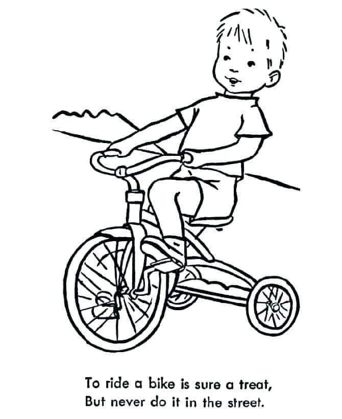 Dirt Bike Coloring Pages Free Printable Dirt Bike Coloring Pages Coloring Junction In 2020 Bike Illustration Coloring Pages Kids Bike Storage