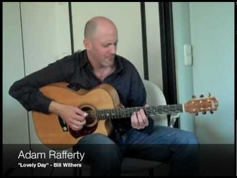 Adam Rafferty - Bill Withers - Lovely Day - Fingerstyle Guitar