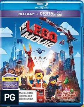 The Lego Movie Blue-ray
