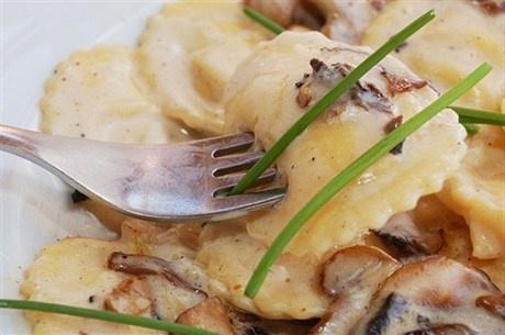 Равиоли с грибами