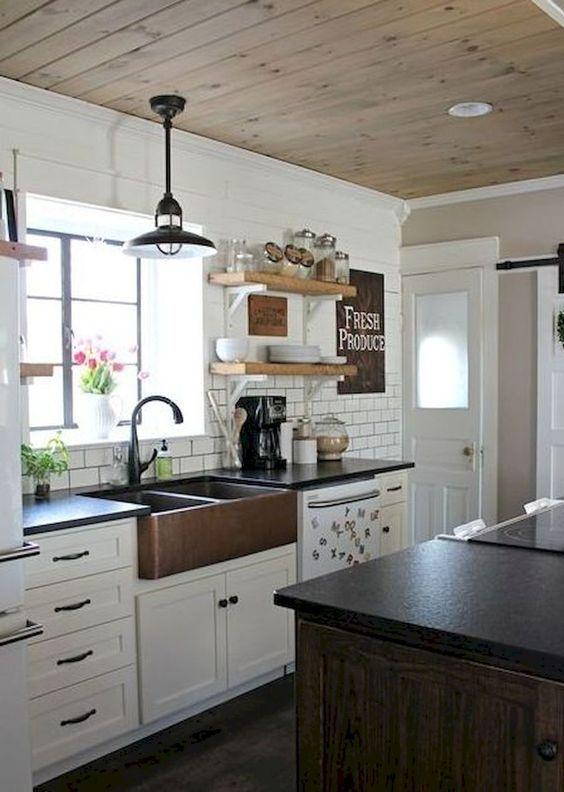 Cocinas Rusticas Blancas 5 Cocinas Pinterest Rustic Kitchen