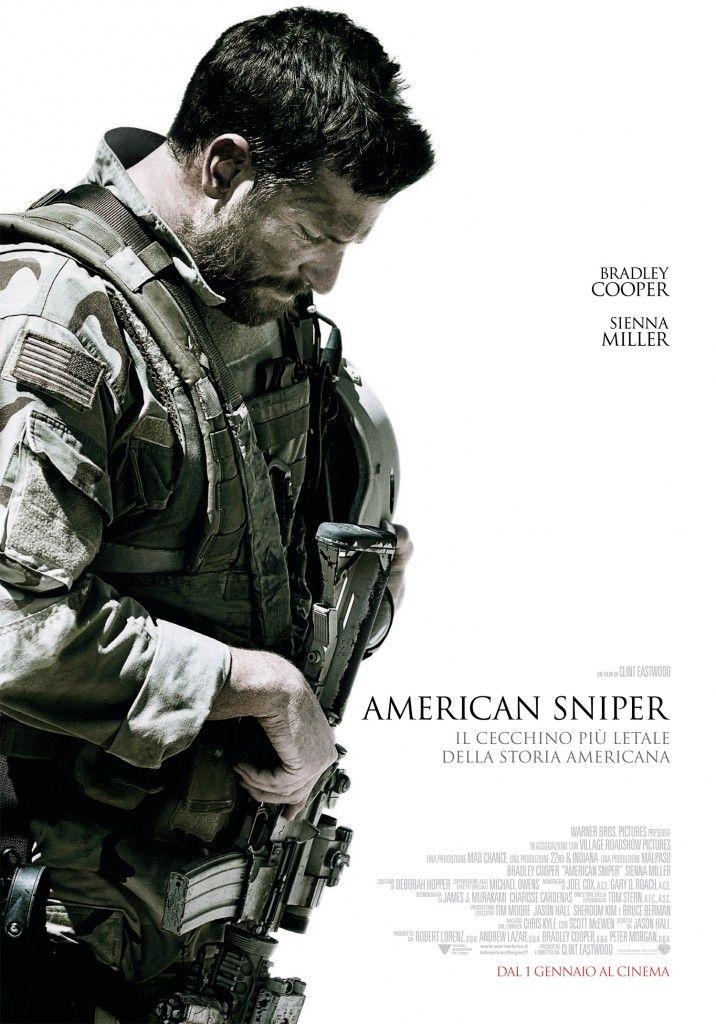 Il primo gennaio 2015 arriverà nelle sale il nuovo film di #ClintEastwood, #AmericanSniper.