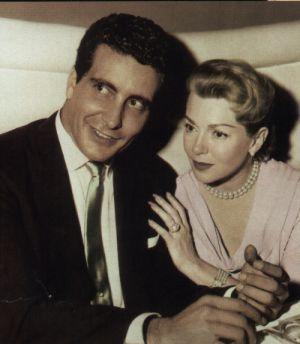Lana Turner and Johnny Stompanato