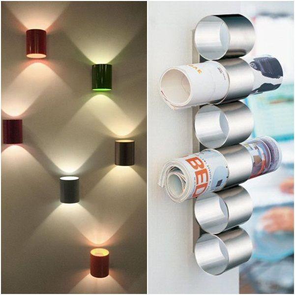35 ideias para reutilizar latas na decoração de sua casa   Economize