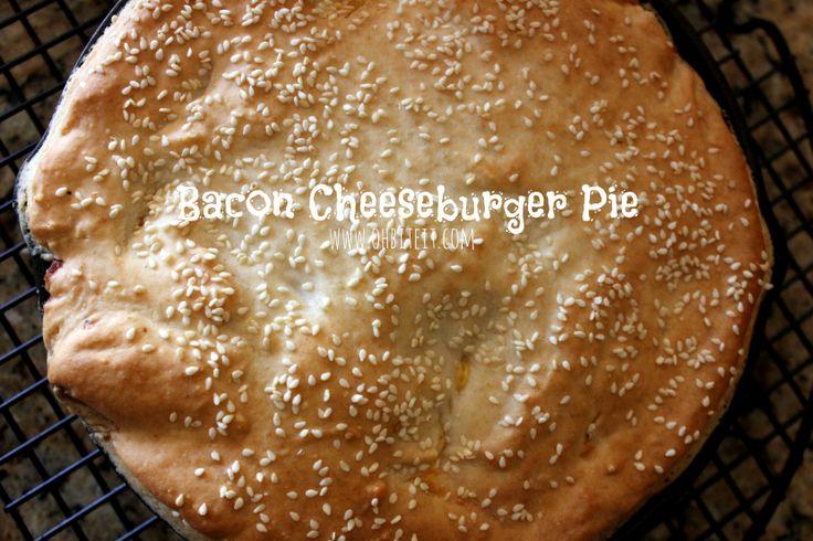 ~Bacon Cheeseburger Pie!