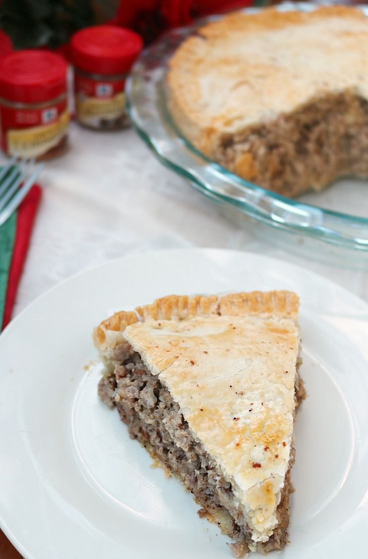 Grandma's Tourtiere (Pork Pie) Recipe! A holiday tradition in our family and so easy to make. #AD #SpiceYourHoliday with @McCormick Spice