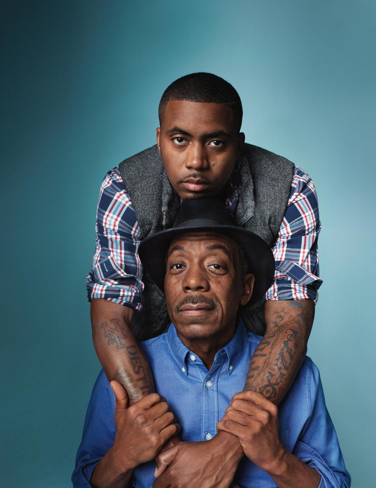 Fatherly Love - rapper Nas  his father, blues musician Olu Dara. Holiday 2012.