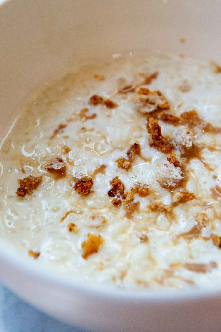 NYT Cooking: This intensely creamy Italian rice dish, called riso al latte, falls somewhere between rice pudding and risotto. The rice is cooked in vanilla- and lemon-infused milk, but barely sweetened, making it more appropriate for brunch than dessert. Crunchy bread crumbs and flaky sea salt add texture, while the optional drizzle of sweetened cappuccino (or regular milky coffee) lends bit...