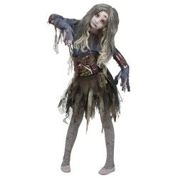 Scary Zombie Costume For Girls
