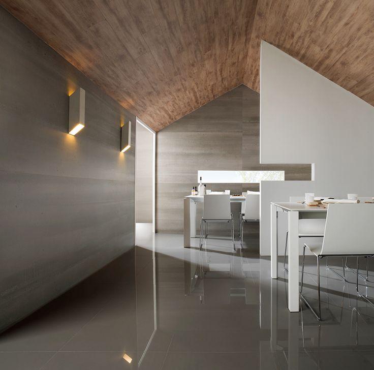 Urbatek XLight Concrete |  Slimline Porcelain Slabs | Available at Ceramo