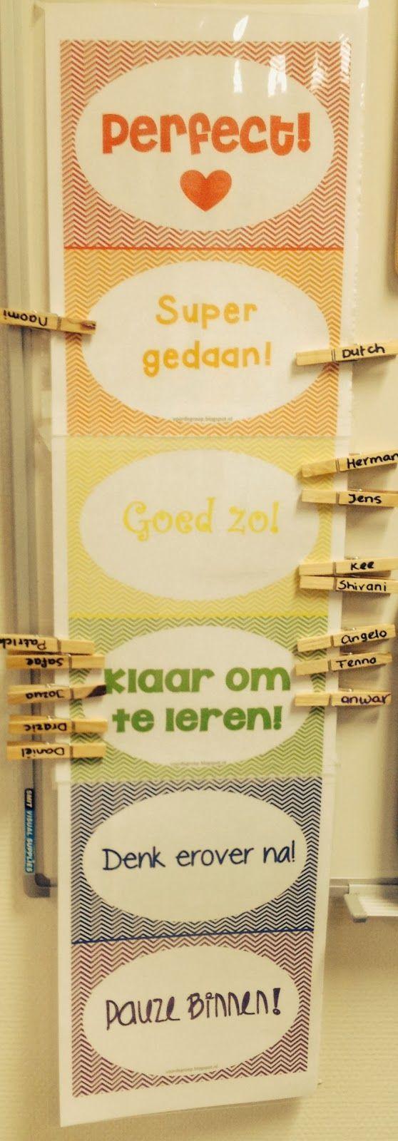 Werken met de Beloningsmeter….. Perfect!!………..Super gedaan……..Goed zo!!……..Klaar om te leren……Denk erover na!……..Time out! De Beloningsmeter Op Pinterest vond ik verschillende ideeën om in je klas te werken aan een positief pedagogisch klimaat. De beloningsmeterstimuleert kinderen om positief gedrag te laten zien in de klas. Je maakt met deze metervoor kinderen visueel waar ze zich op …