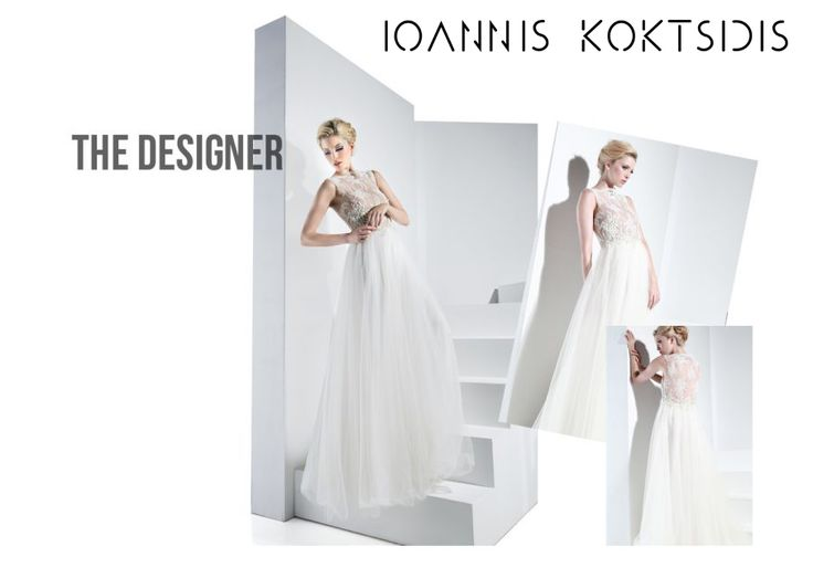 Perfect romantic wedding dress by Ioannis Koktsidis #ioanniskoktsidis #operafhouse