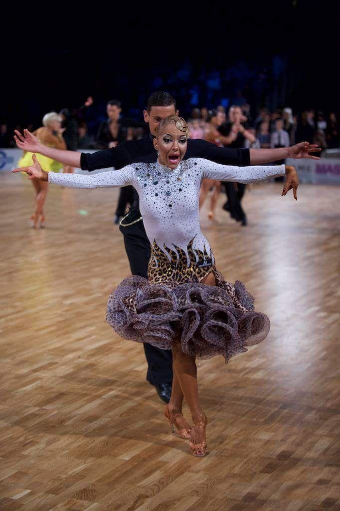 Armen Tsaturyn and Svetlana Gudyno - WDSF Grand Slam Latin 2016 Helsinki 5 Mar
