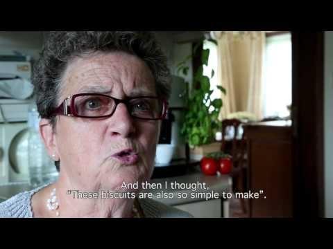Recept Gateaux roux: koekjes door grootmoeder Marie-Thérèse voor Grandma's Design