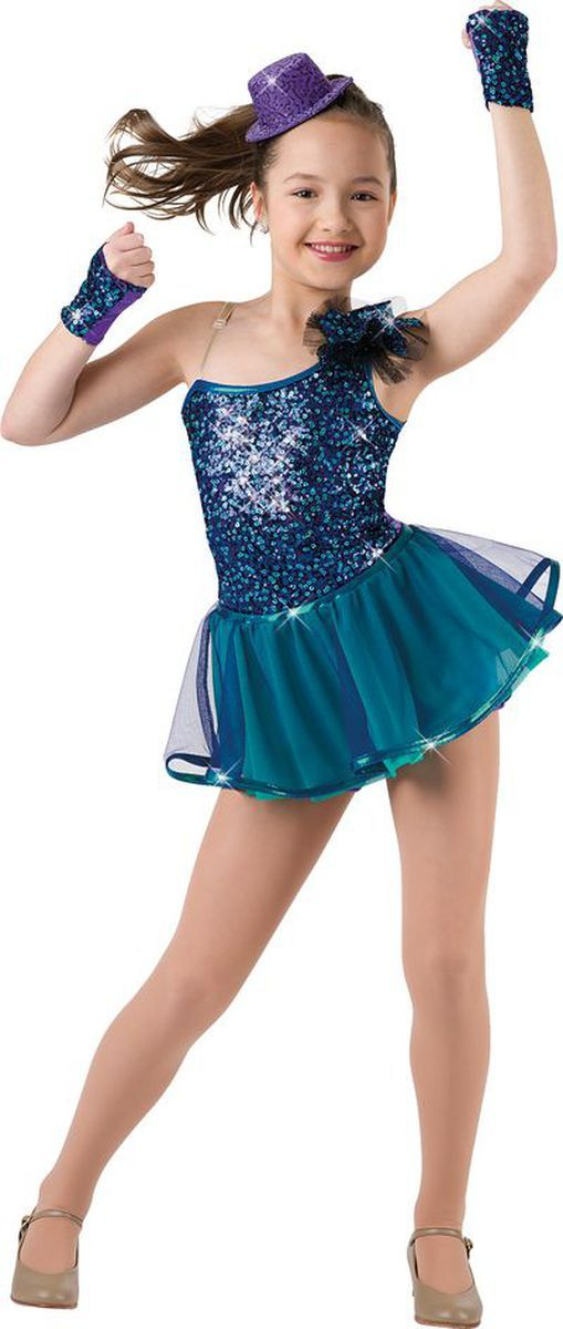 LC XLC SA Multi sequin mesh over lycra shortie unitard. Separate multi mesh skirt. Available in two colors. Made in the USA. Sequin pouf headpiece and mitts included