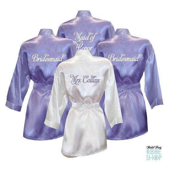 Best 25 Bridal Party Robes Ideas On Pinterest