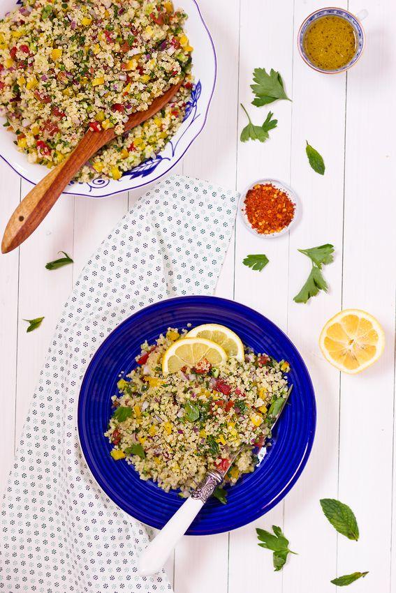 giroVegando in cucina: Tabuleh di quinoa con verdure