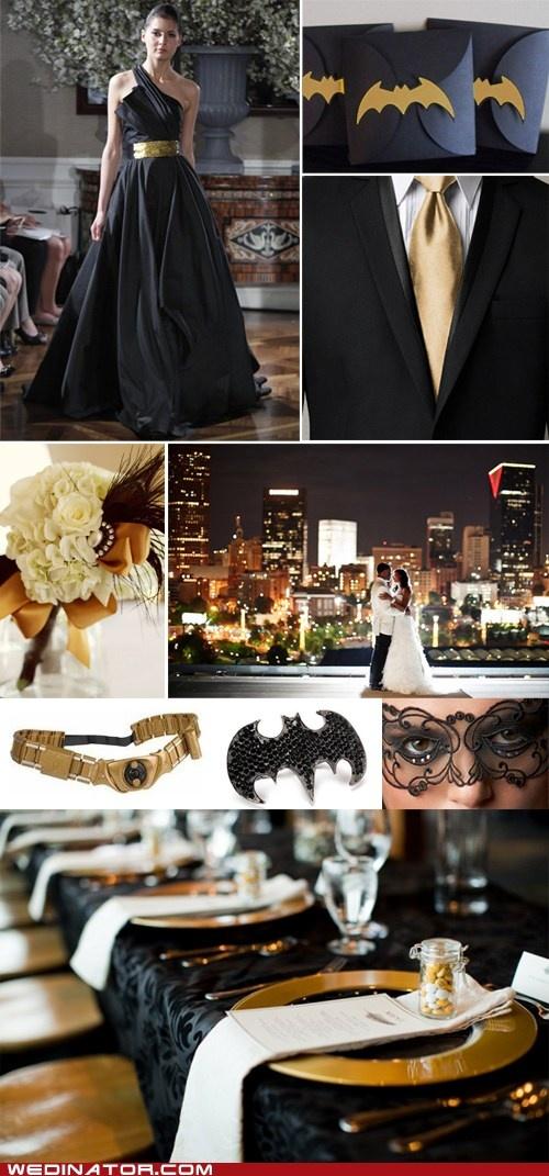 Elegant Batman Wedding