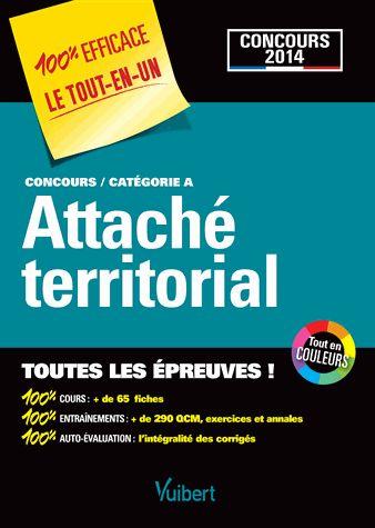 Attaché territorial - Concours catégorie A Pierre Couturier, Luc Deslandes, Pierre-Brice Lebrun, Pascal Leprêtre