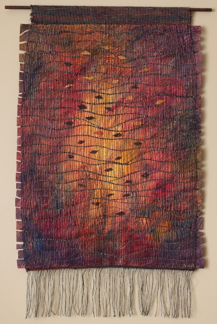 Weaving with wallpaper 1