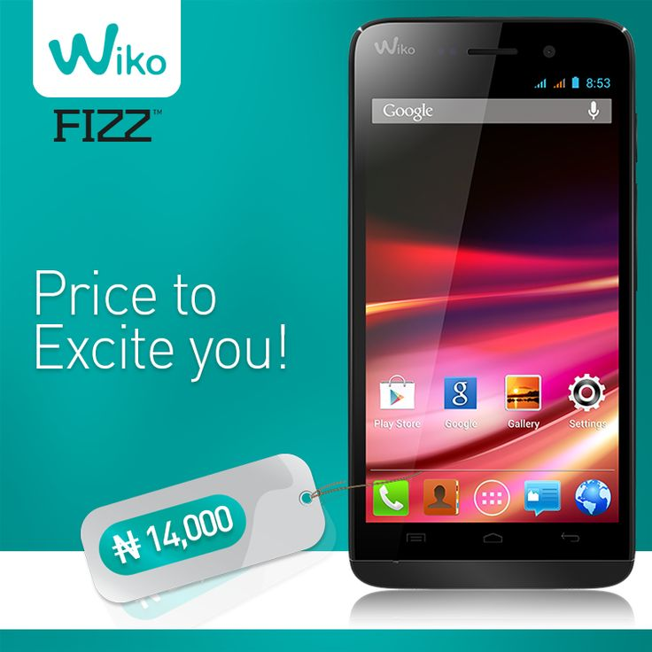 #Fizz #PriceRevealed now! #Wiko #Nigeria