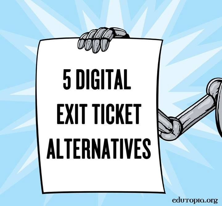 Goodbye paper! Gather instant feedback from students with these digital alternatives to the exit ticket.