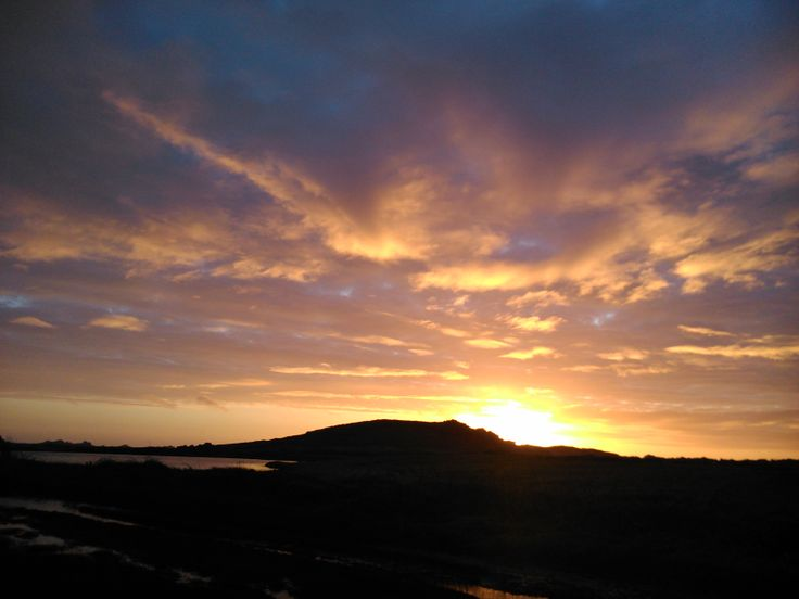 Atardecer en Bryhar, Isles of Scilly.