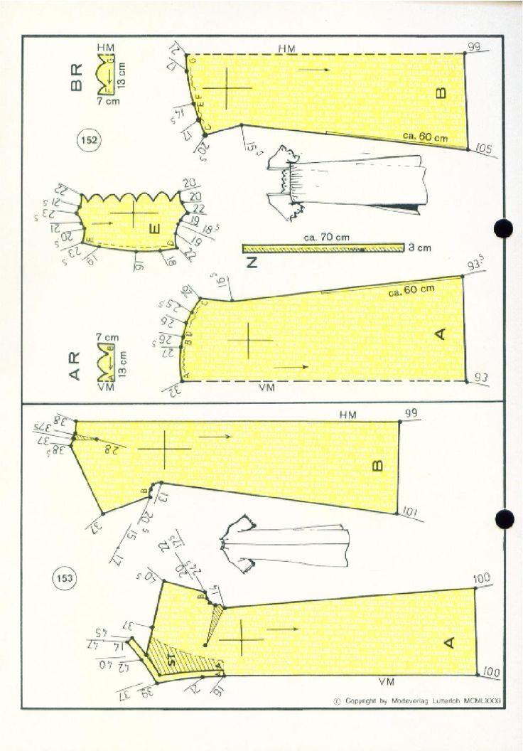 Vintage  Sewing Patterns 162 autumn 1981  Patternmaking