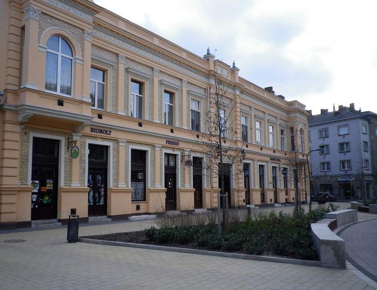 Csapó (walking) street