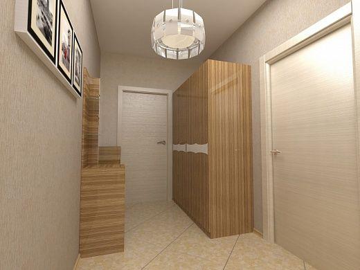 2-х комнатная квартира 57.29m²