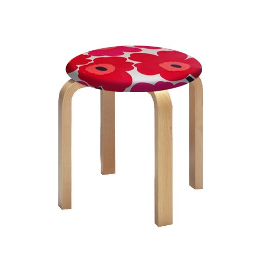 Maija Isola and Aalvar Aalto- two great names in Finnish design now can be loved together. Artek Alvar Aalto NE60 - Children's Stools - Your Own Materials