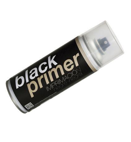Imprimación negra en spray de Ventus. Black Primer.